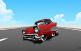 1957 Chevy Bel Air desktop Wallpaper by Ryan Nore