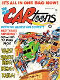 CARtoons magazine cover