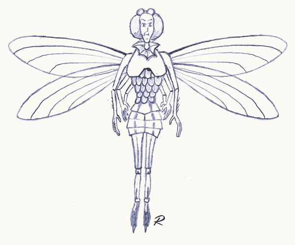 Dragonfly Fairy inspired by The Spiderwick Chronicles