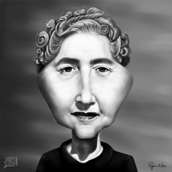 Agatha Christie by Ryan Nore Featured