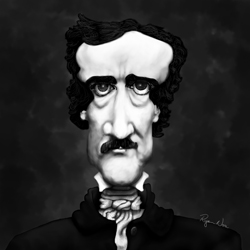 Edgar Allan Poe by Ryan Nore Featured