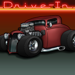1934 Ford Coupe Featured
