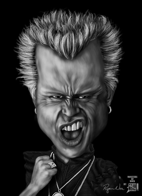 Billy Idol by Ryan Nore