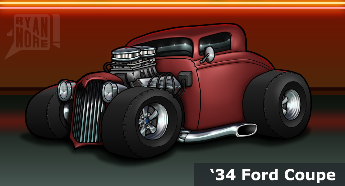 '34 Ford Coupe by Ryan Nore